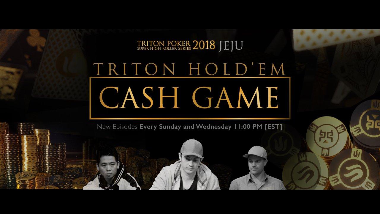 Triton hold'em cash game