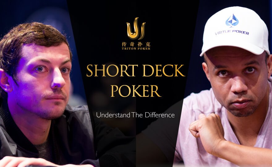 Difference between short deck poker and no-limit texas hold'em