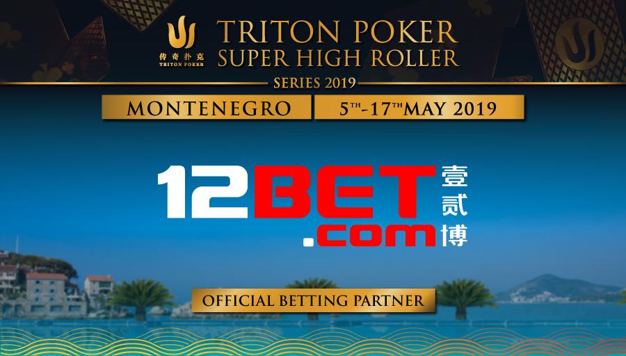 12 bet sponsors Triton Montnegro 2019